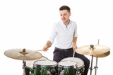 Man drummer