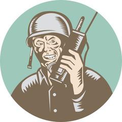 World War Two Soldier American Talk Radio Circle