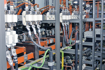 Electrical control system in factory