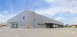 canvas print picture - Distribution warehouse