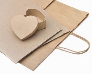 carton et papier recyclés
