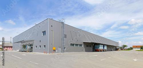 canvas print picture Distribution warehouse