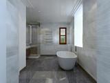 Fototapety Bathroom avant-garde style