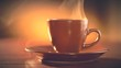 Cup of Hot Coffee Espresso. Coffee or Tea