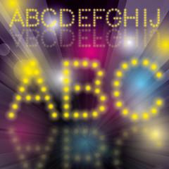 Disco Alphabet