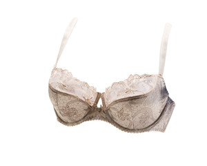Beige bra in volume.