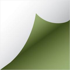 green paper sicker