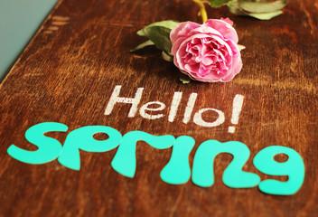 hello spring!