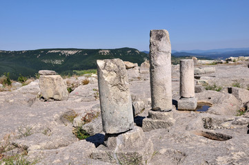 Perperikon is consecrated to Dionysus, the Rhodopes, Bulgaria