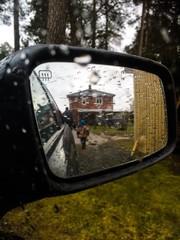 Car mirror view