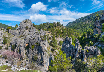 View of the Cazorla Region, Jaen Province, Andalusia, Spain