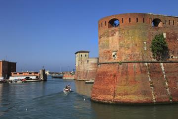 Toscana,Livorno,Fortezza Medicea.