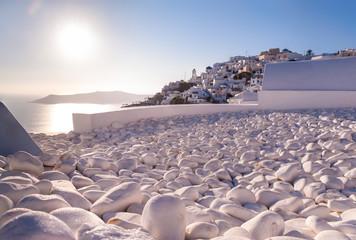 Rooftop in Santorini