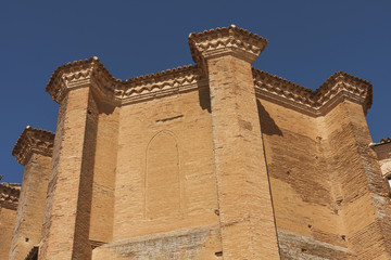Church of San Miguel, century XVI. detail. Grajal de Campos.  S