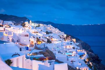 Evening Santorini