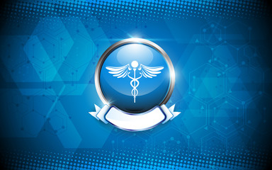 pharmacy medical concept abstract background