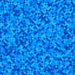 Checkered blue pattern.