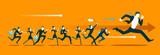 Run competition. Go!