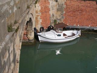 Toscana,Livorno,canale.