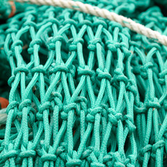 Fishing net knot detailing