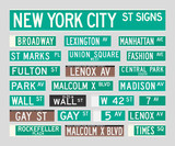 Fototapety New York Street Signs