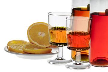 Drink alcolico all'arancia