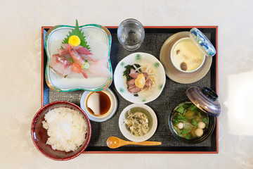 Lunch set Japanese food