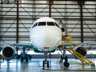 Aircraft extensive C-check