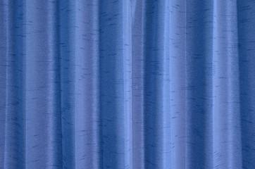 Blue curtain texture background