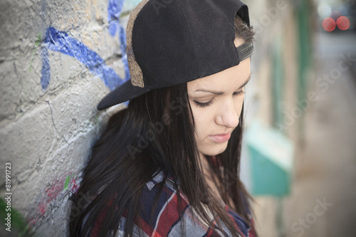 Teen cap street - 81991723
