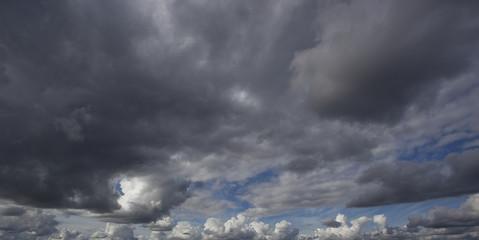 Panorama clouds.