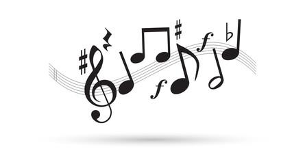 note musicali, musica, pentagramma