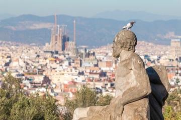 Landscape from Barcelona (Spain)