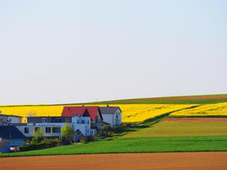 Ortsrand und Agrarlandschaft