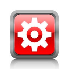 White Gear icon