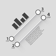 Paper Banner Design templates for your website or infographic.