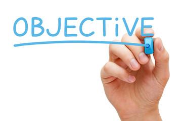 Objective Blue Marker