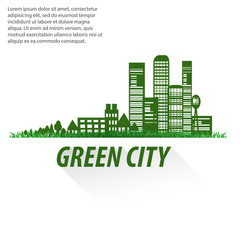 design elements for infographics about city and village