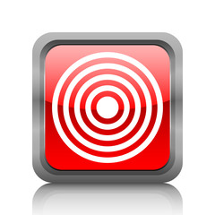 White Target icon