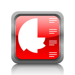 White Coxcomb Chart icon