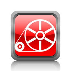 White Flywheel icon