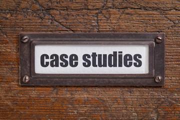 case studies  label