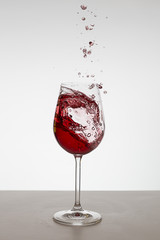 Red Waved Wine