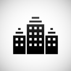 White Office Building icon