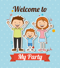 welcome to my party