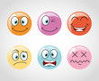 Постер, плакат: emoticons icons