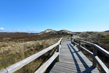 Strand Sylt Holz Brücke