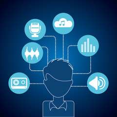 avatar music icons