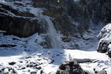Krimmler Wasserfälle, Pinzgau, Österreich