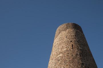 Torre vigía de la Vela Blanca en Cabo de Gata